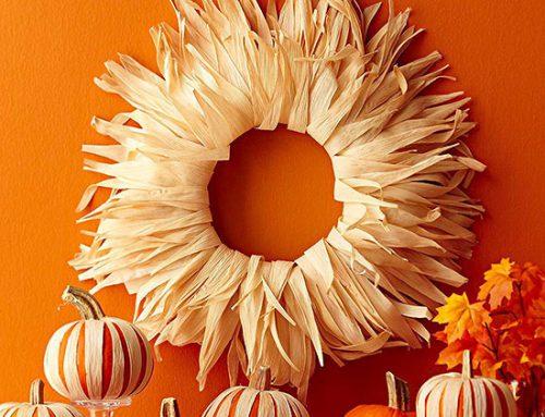 Осенний венок своими руками: 34 идеи дизайна